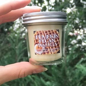 Pumpkin Pecan Waffles Mini Candle Bath & Bodyworks